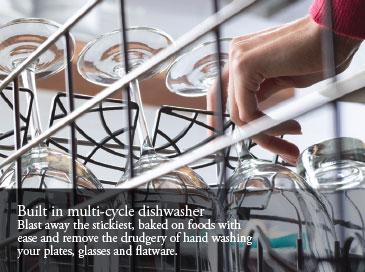 Built In Multi-cycle Dishwasher